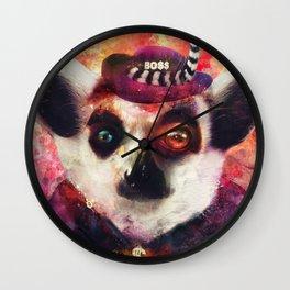 Lemur ( The Pimp Le-Mur ) Wall Clock