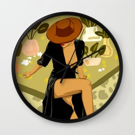 Make it Worth Their While, The Little Black Dress Wall Clock