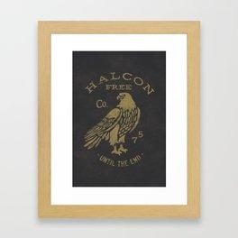 HALCON Framed Art Print