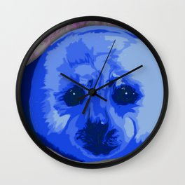 Harp Seal Wall Clock