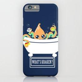 What's Kraken? iPhone Case