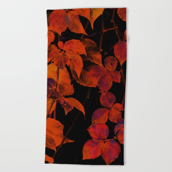 It's Fall II Beach Towel