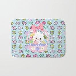 Easter Bunny Easter Basket Bath Mat