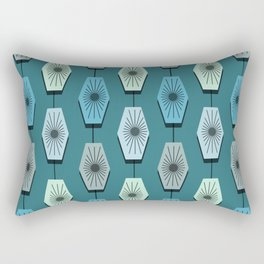 Mid Century Modern Pattern Rectangular Pillow