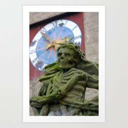 The Death | Der Tod Art Print