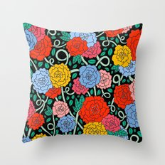 FLOWERS FROM THE SOUTH Throw Pillow