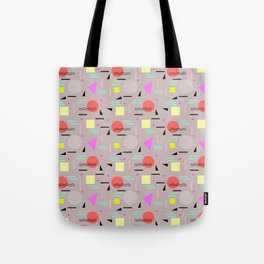 Memphis Forever - Taupe Tote Bag