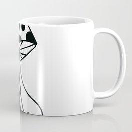 Black Sloth Coffee Mug