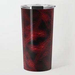 Red fantasy pattern Travel Mug