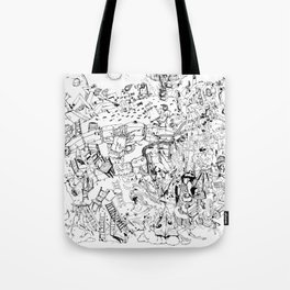 Fragments of dream Tote Bag