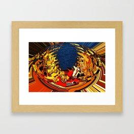 Lakefront Living Framed Art Print