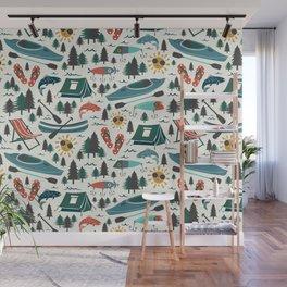 Lake Life - Summer Ivory Wall Mural