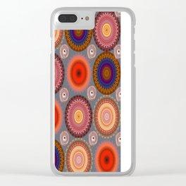 Kaleidoscopes 001 Clear iPhone Case
