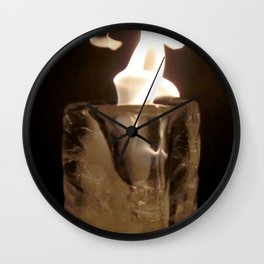 Fire from Ice - FredPereiraStudios.com_Page_11 Wall Clock