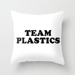 TEAM PLASTICS Throw Pillow