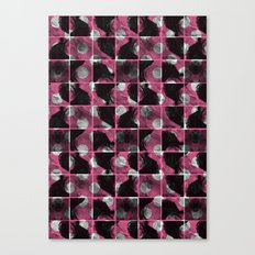 scribble (pink) Canvas Print