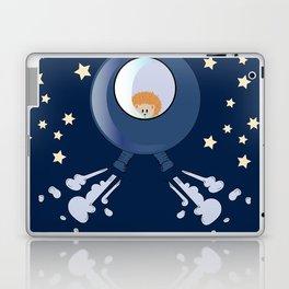 Hedgehog in space. Laptop & iPad Skin