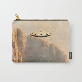 Flying Saucer - Machu Picchu Carry-All Pouch