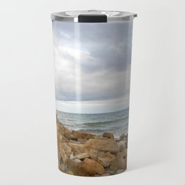 Cocklawburn Beach Travel Mug