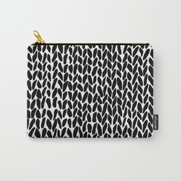 Hand Knit Zoom Carry-All Pouch