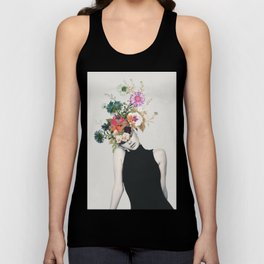 Floral beauty Unisex Tank Top