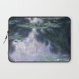 Monet - Water Lilies (Nymphéas), 1907 Laptop Sleeve
