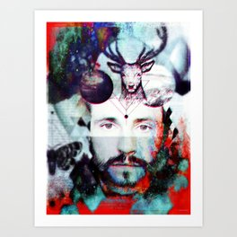 Will Graham Psychedelic Hallucinations Art Print