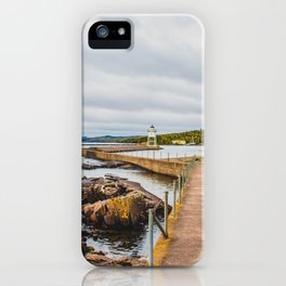 Grand Marais Lighthouse, Grand Marais, Minnesota 1 iPhone Case