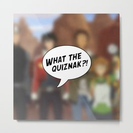 Voltron: What The Quiznak?! Metal Print