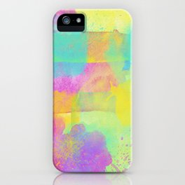 Rainbowcolors Watercolor iPhone Case
