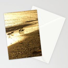 Golden travelers Stationery Cards