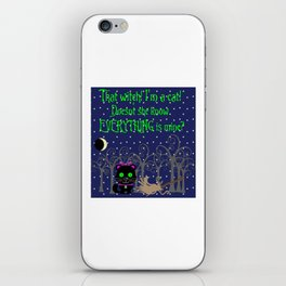 What a Witch iPhone Skin
