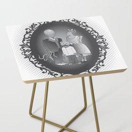 Framed family portrait Side Table