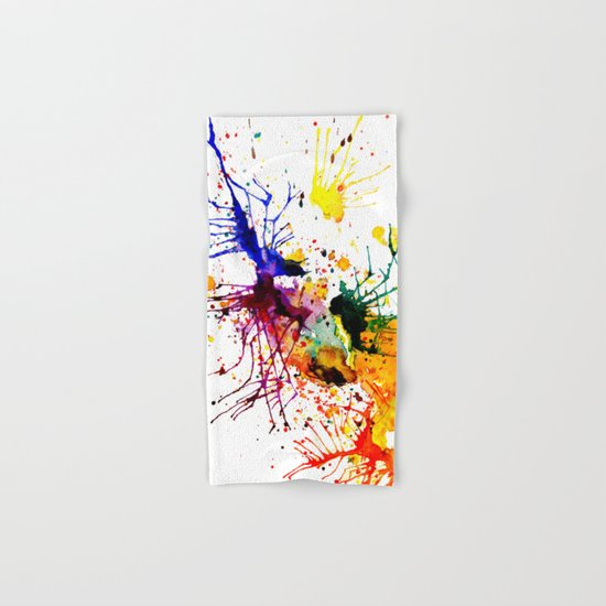 bright fantasy Hand & Bath Towel