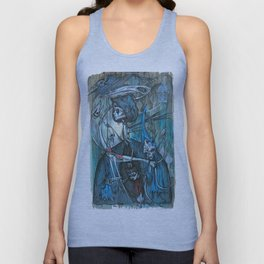 exiled archangels Unisex Tank Top