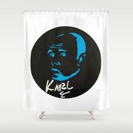Karl Pilkington Shower Curtain