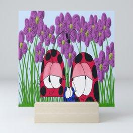 The Ladybug Family Mini Art Print