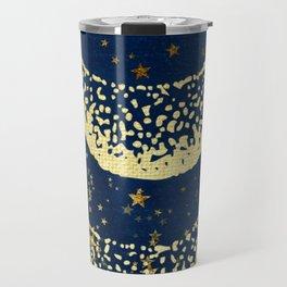 Aquarius Zodiac Sign Travel Mug
