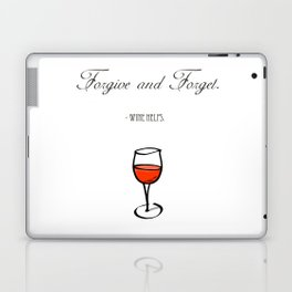 Forgive and Forget Laptop & iPad Skin