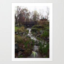 It's all water under the bridge.  Art Print