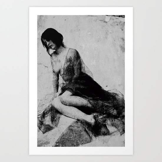 Wounded soul  Art Print