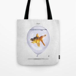 Inflated Tote Bag