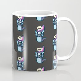 Pixel Angel Ogura Pattern Coffee Mug