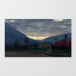 Lucca 6a.m. Canvas Print