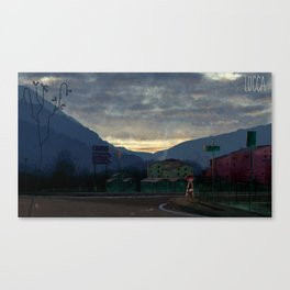 Lucca 6a.m. Canvas Print
