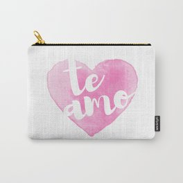 Te amo Carry-All Pouch