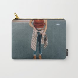 flannel and boots Carry-All Pouch