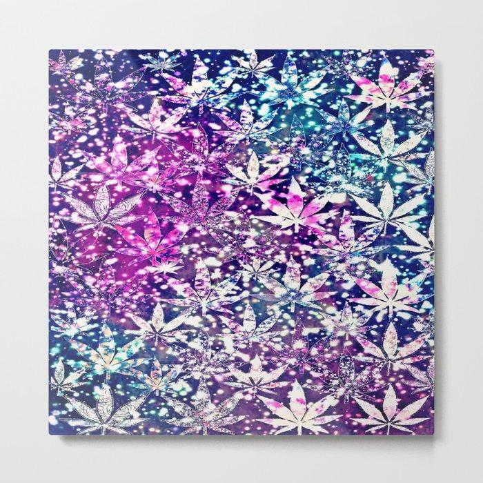 gorgeous weed-300 Metal Print