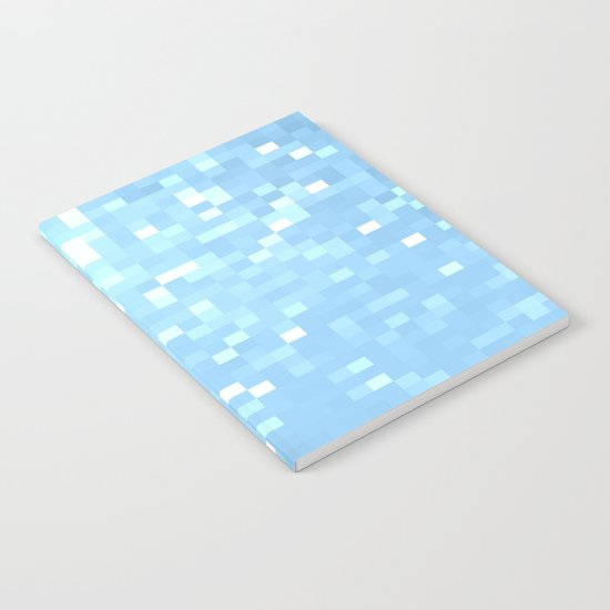Blue Pixels Notebook