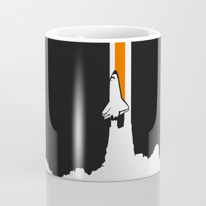 Launch me - The Final Flight of the Space Shuttle Coffee Mug
